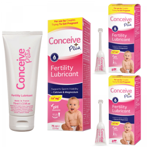 Conceive Plus 16 applicators fertility lubricant combination